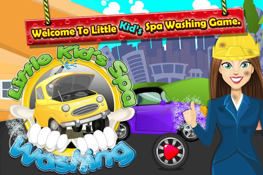 Little Kids Car Spa Washing