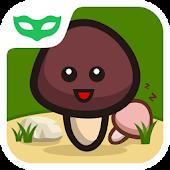Cute Mushroom: App Lock Theme