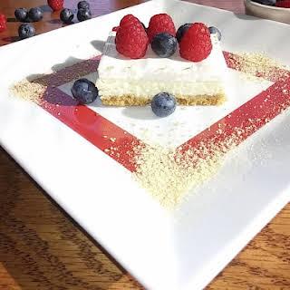 Creamy Cheesecake.