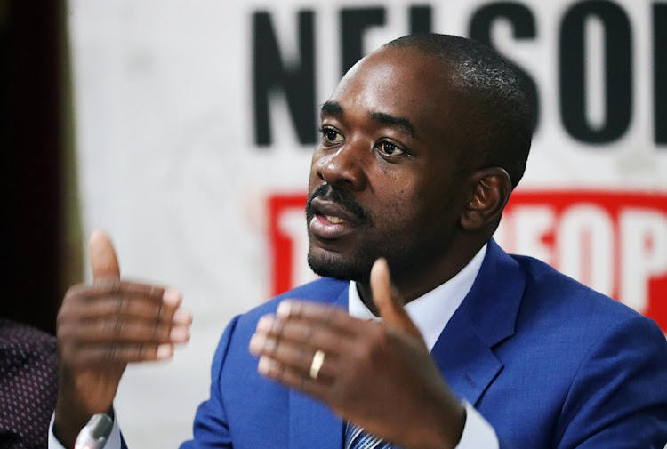 "Nelson Chamisa said his party had put a ""strong case"" before the top court."
