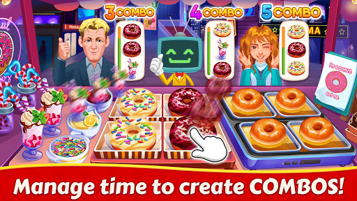 Cooking Family :Craze Madness Restaurant Food Game  screenshots 4