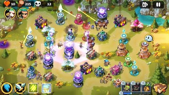 Hero Defense King MOD (Unlimited Gems) 3