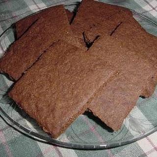 Homemade Whole Wheat Graham Crackers!