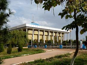Photo: der Präsidentenpalast in Taschkent
