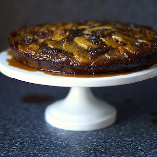 Gingerbread Apple Upside-Down Cake