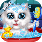 Wash and Treat Pets  Kids Game Icon