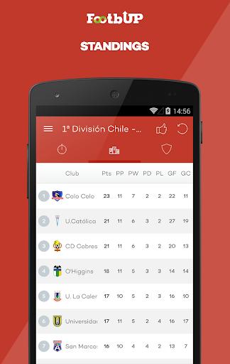 Chilean Football - Footbup