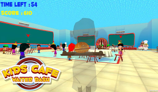 Kids Cafe Waiter Dash v1.0.1