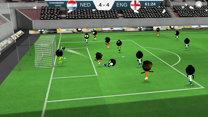 Stickman Soccer 2018 Android App Screenshot