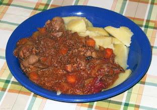 Photo: Kurza wątróbka z ziemniakami, marchewką 15