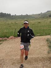 Photo: Local rock star Scott Slusher looking strong at mile 40 on his way to a top 20 finish.