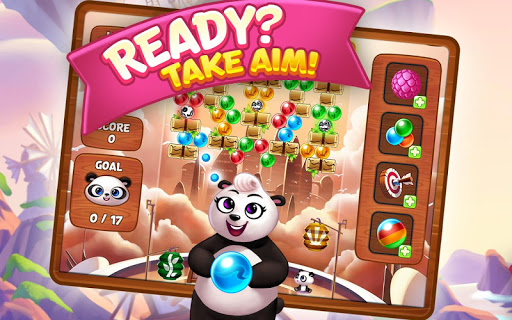 Panda Pop - Bubble Shooter Game. Blast, Shoot Free  mod screenshots 1