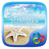 Summer Holidays GO Launcher