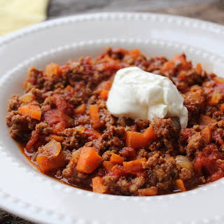 Texas Slow Cooker Beef Chili from Down South Paleo.