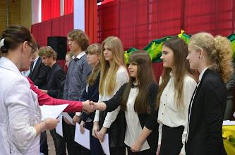 Photo: Laureaci Wojewódzkich Konkursów Przedmiotowych 2014 - M. Polecka