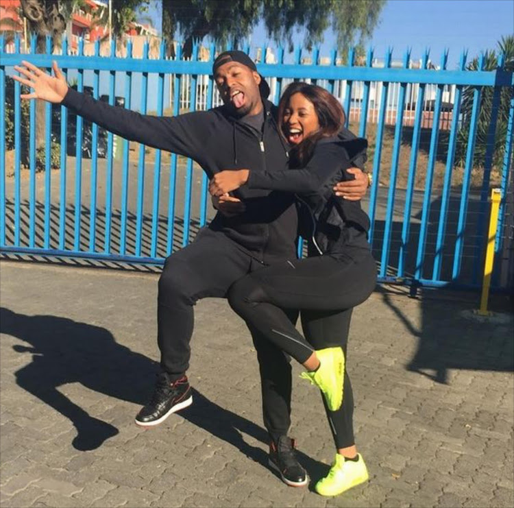 Sbahle Mpisane and Itumeleng Khune.