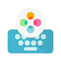 Fleksy Ergonomic Keyboard 2020 -Emoji Keyboard GIF icon