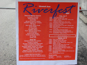 Photo: Elizabeth Riverfest 2007 Schedule