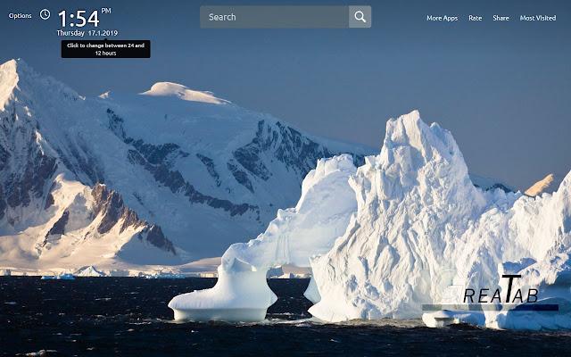 Antarctica HD Wallpapers Theme |GreaTab