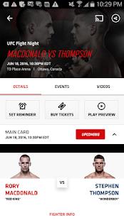 UFC Screenshot 2