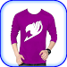 Men Designed T-Shirt Photo Suit Editor Icon