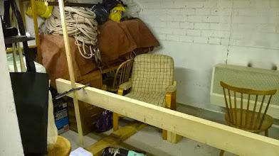 Photo: Begin bouwstelling