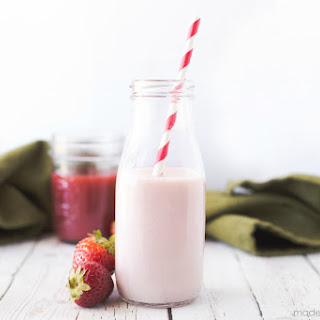 Homemade Strawberry Milk Syrup Recipe