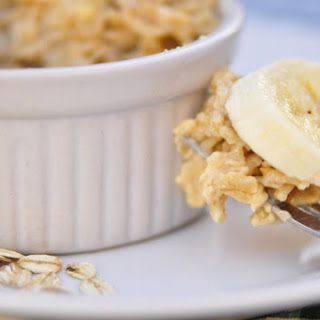 Peanut Butter and Banana Oatmeal