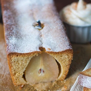 Pear Ginger Cake.