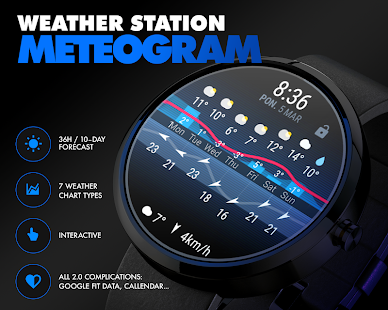 ByssWeather for Android Wear Screenshot
