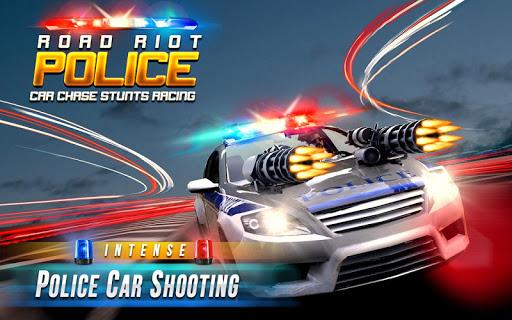 Road Riot Police Car Chase Stunts Racing 0.9.7.2 screenshots 1