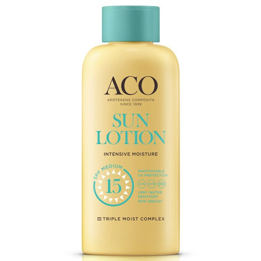 ACO Sun Lotion SPF 15, 200 ml