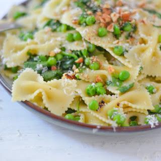 Peas + Pasta | Last Minute Dinner