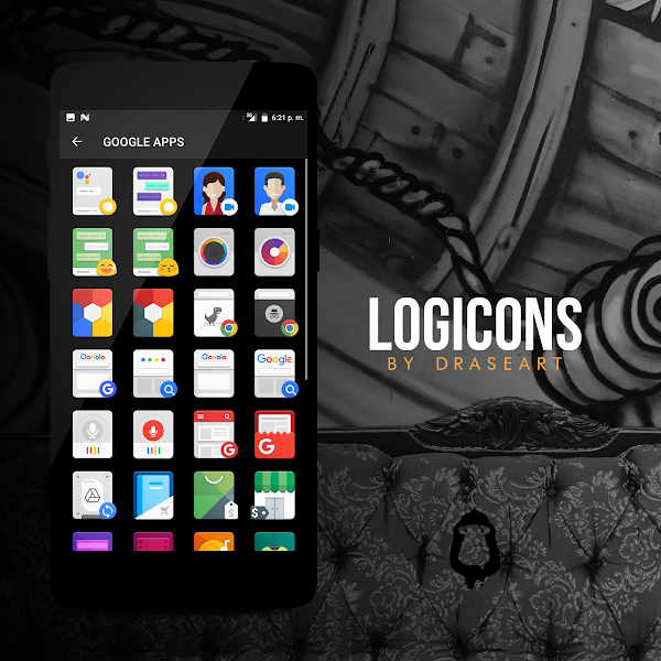 Logicons iconpack v0.1.2 [Patched]