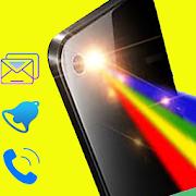 تنبيهات مصباح يدوي اللون على المكالمات والرسائل APK