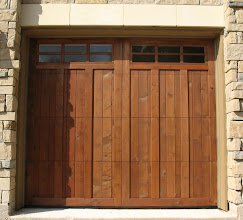 Photo: Custom Wood Door by Cedar Park Overhead Doors. Call us at 512-335-7441. See our doors at www.cedarparkgaragedoors.com