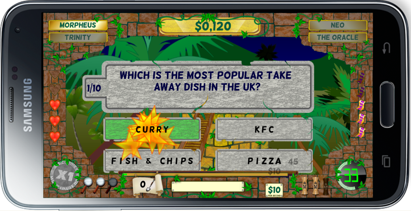 Game Show Adventure- screenshot