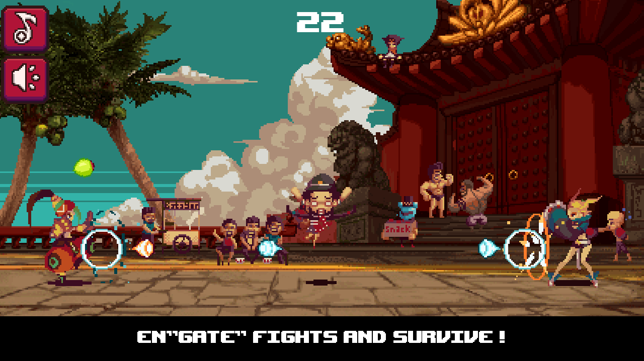 Frontgate Fighters- screenshot