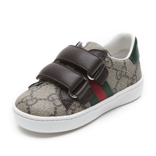 Thumbnail images of Gucci GG Toddler Trainer