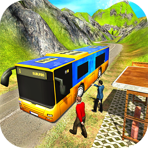 Uphill Offroad Public Bus Transport Simulator