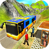 Uphill Offroad Bus Public Transport Simulator