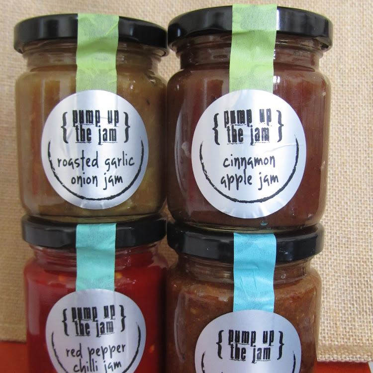 Set of 4 flavours by Pump Up The Jam