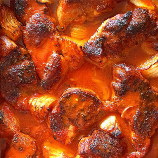 Brazilian Braised Pork in Passion Fruit, Orange and Guajillo Peppers Recipe