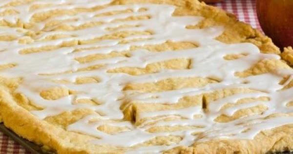 Farm Fresh Apple Pan Pie/w Egg Yolk Pastry Recipe