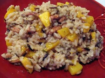 Peachy Wild Rice Recipe