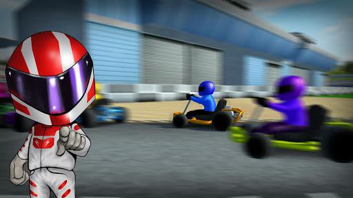 Rush Kart Racing 3D  gameplay | by HackJr.Pw 12