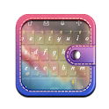 Lively rainbow TouchPal icon