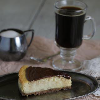 Tiramisu Cheesecake with Mocha Ganache