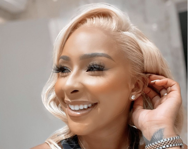 Boity has pledged to help survivors of abuse.