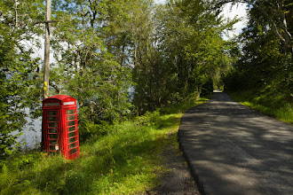 Photo: Loch Awe Telephone Booth